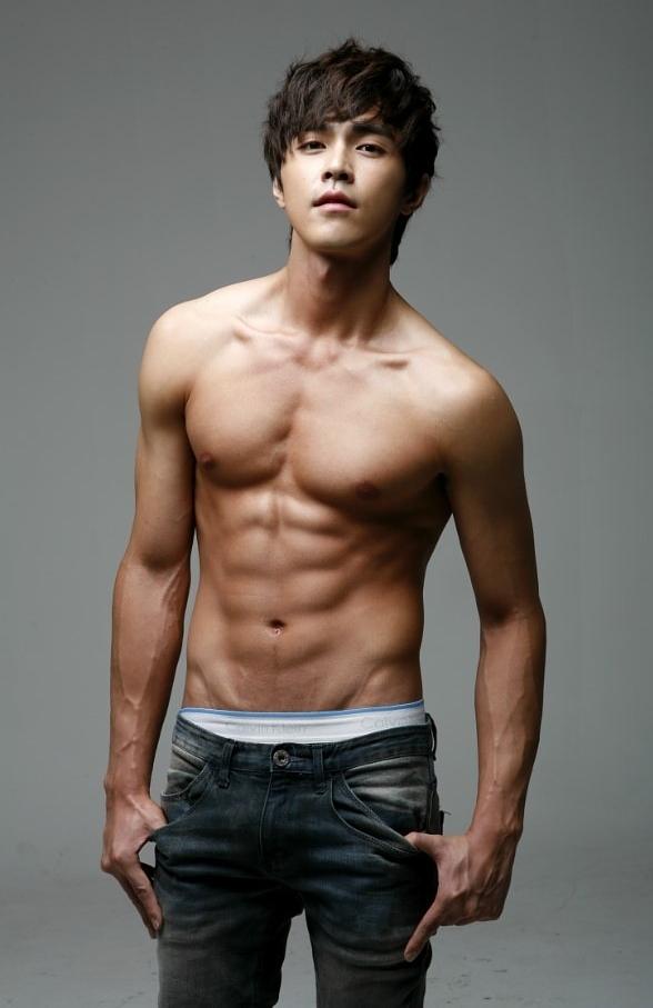 Cute male korean nude — photo 2