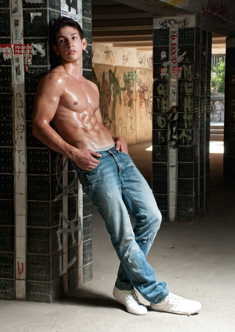 Nude guy jeans